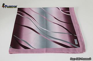 Платок розовый шерстяной Ирма, фото 2