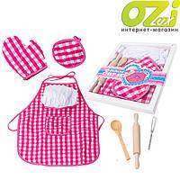 Детский кухонный фартук + аксессуары