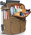Рюкзак для фотокамеры National Geographic, NG A5270 хаки, фото 6