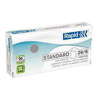 Скобы Rapid Standard 26/6