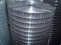 Сетка сварная рулонная черная 25х25х1,2
