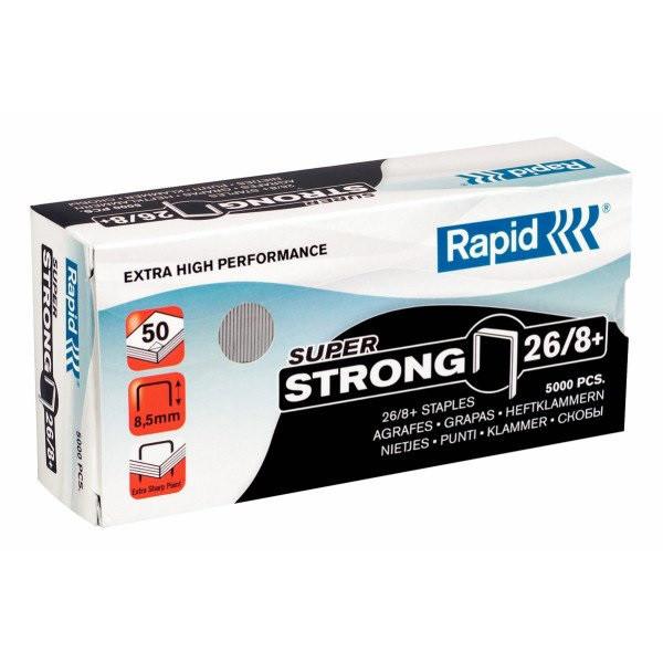 Скобы Rapid SuperStrong 26/8+