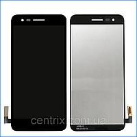 Дисплей (экран) для LG X230 K7 (2017) + тачскрин, черный, оригинал
