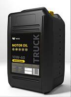 Полусинтетическое моторное масло 10W-40 WOG TRUCK UHPD , 20 литров