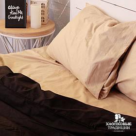 Комплект постельного белья Black Сream Brulee (Полуторный)