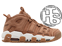 "Мужские кроссовки Nike Air More Uptempo 96 Premium ""Flax Pack"" Light Brown/White AA4060-200"