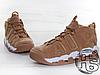 Мужские кроссовки Nike Air More Uptempo 96 Premium Flax Pack Light Brown/White AA4060-200, фото 2