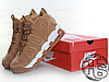 Мужские кроссовки Nike Air More Uptempo 96 Premium Flax Pack Light Brown/White AA4060-200, фото 4