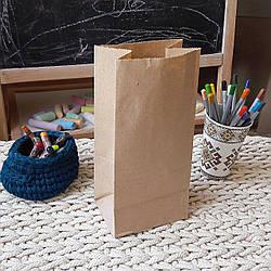 Крафт-пакет без ручек, 240х120х85 мм, код 957