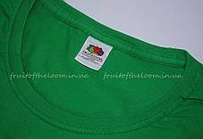 Женская Футболка Премиум  Ярко-зелёная  Fruit of the loom 61-424-47 M, фото 2