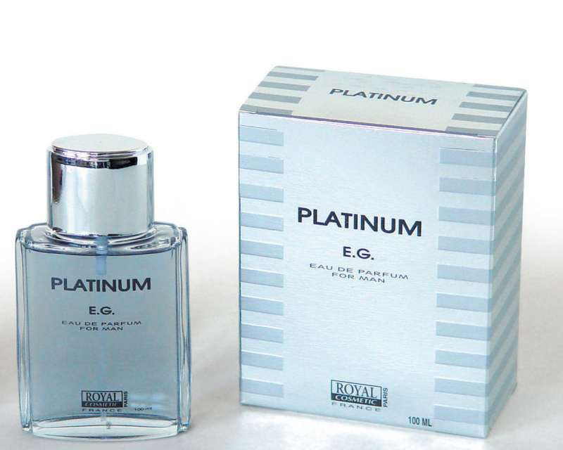 Мужская туалетная вода platinum e.g. 100 ml