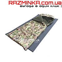 Зимний спальный мешок армейский 210х75см