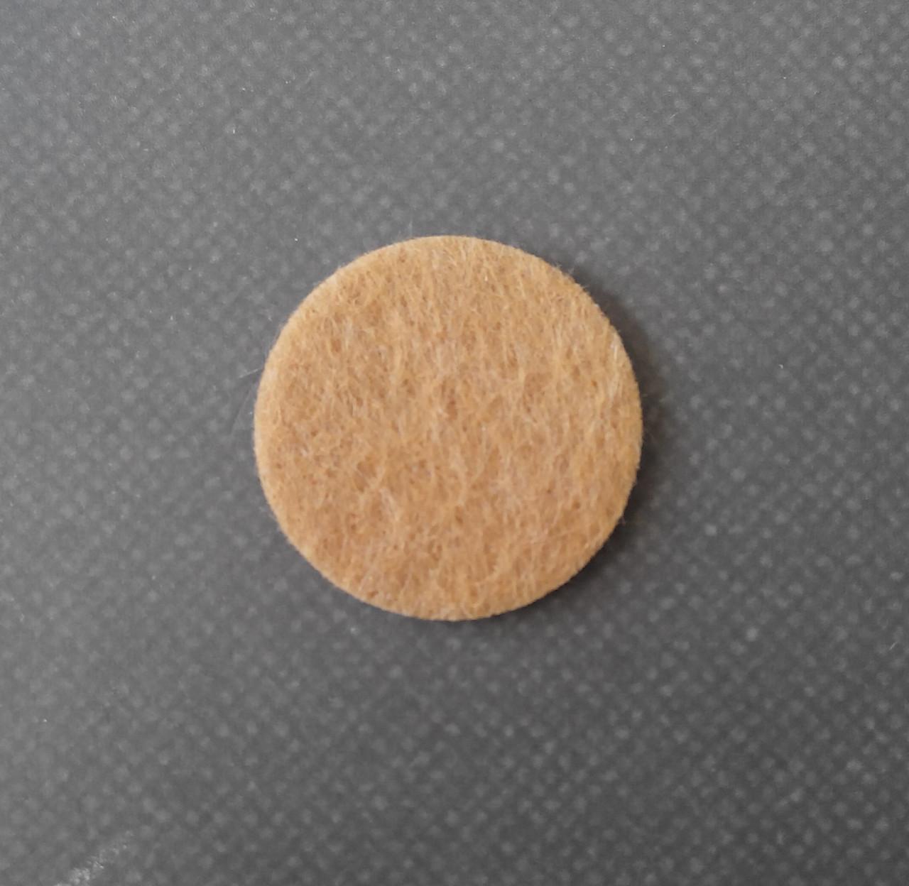 Самоклейка фетровая D=2,4см. (32шт/лист)