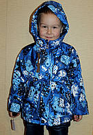 Детская весеняя  куртка для мальчика 2-6 лет