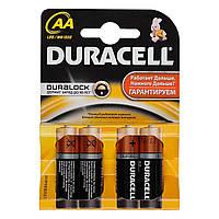 Батарейка AA DURACELL LR6-4BL, 4 шт, блистер