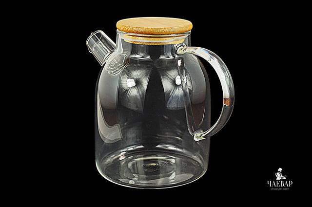 Жаропрочный чайник для варки.