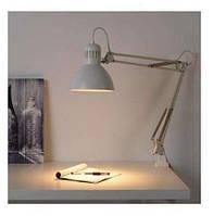 Настольная лампа для маникюра белая черная