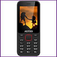 Телефон Astro A242 (Black). Гарантия в Украине 1 год!