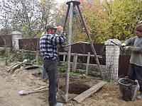 Копка колодца Васильковский район