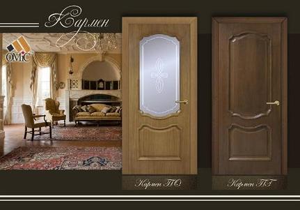 Двери Omis натуральный шпон коллекцииКлассика