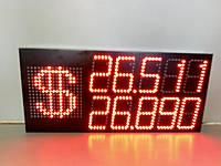 Светодиодное табло обмена валют универсальное