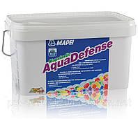 Готовая к применению быстротвердеющая гидроизоляция Mapelastic Aquadefense.7,5 кг.Mapei