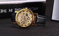 Часы наручные McyKcy Skeleton Black