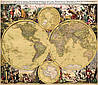 Оригинальная карта мира