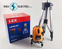 Лазерный уровень нивелир LEX LXNL01 + штатив POLAND, фото 1