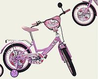 Велосипед детский двух колесный 14 дюймов Hello Kitty 181405
