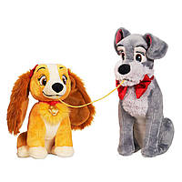Мягкий набор мягкая игрушка собачка песик собака Леди и Трамп Дисней/Disney 1250055501013P
