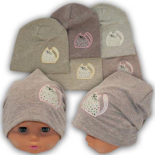 Польские шапки для девочек, р. 42-44