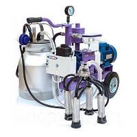 Доильный аппарат УИД-10 с одним ведром (мощностью для дойки двух коров одновременно)
