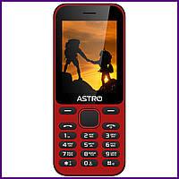 Телефон Astro A242 (RED). Гарантия в Украине 1 год!