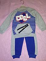 Детский теплый костюм для мальчика на 2,3,4,5 лет