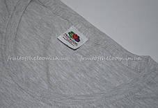 Женская Футболка Премиум Серо-лиловая  Fruit of the loom 61-424-94 S, фото 2