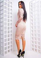 Кружевное платье женское ТБЕ613