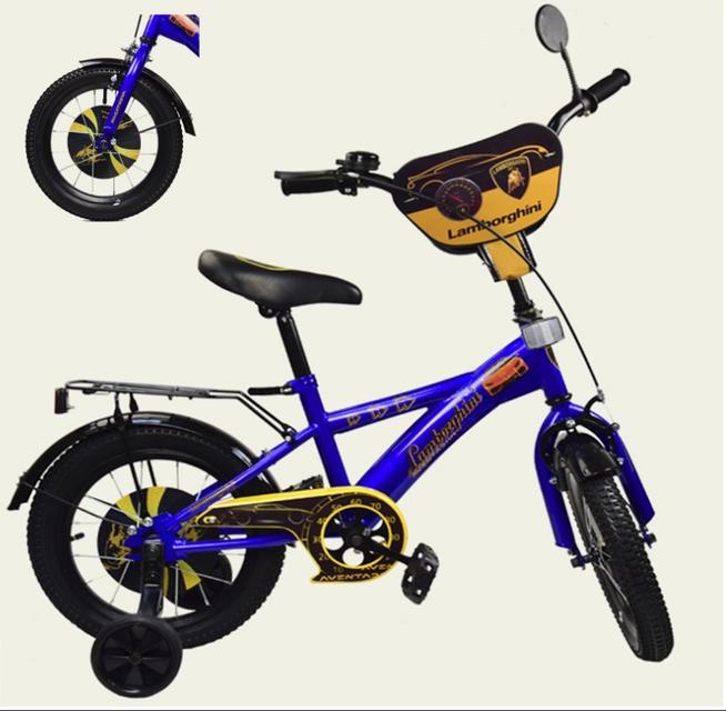 Велосипед детский двух колесный 14 дюймов Lamborghini 181446