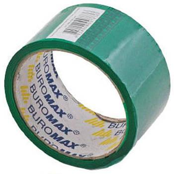 Скотч упаковочный 48мм*35м Buromax BM.7007-** цветной_Зеленый