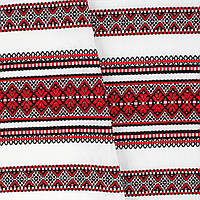 Декоративная ткань с украинским орнаментом