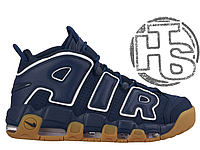 Мужские кроссовки Nike Air More Uptempo Blue/Brown 921948-400