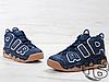 Мужские кроссовки Nike Air More Uptempo Blue/Brown 921948-400, фото 2