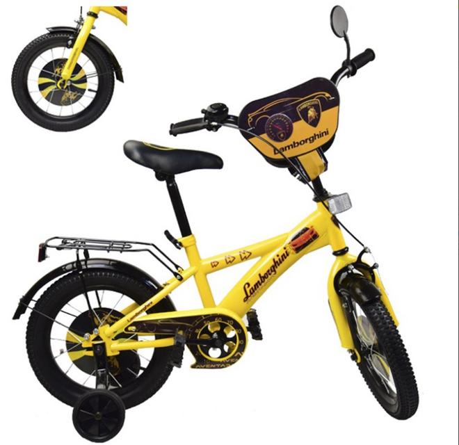 Велосипед детский двух колесный 14 дюймов Lamborghini 181447
