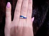 Оригинальное кольцо с огненным опалом в серебре 17 размер. Кольцо - огненный опал!, фото 3
