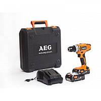 Аккумуляторный шуруповёрт AEG BS18G2LI-152C двух скоростной