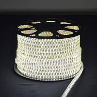 LED лента 220В SMD 2835, 180шт/м, IP67