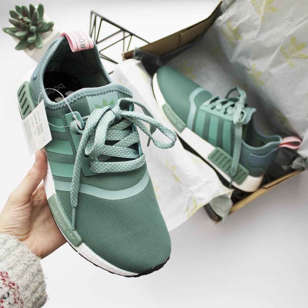 d6f6253e Женские Кроссовки Adidas NMD Mint, цена 1 365 грн., купить в Киеве ...