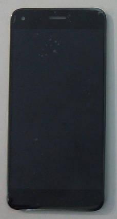 Модуль (сенсор+дисплей) для Huawei Nova Lite (2017), P9 Lite mini, Y6 Pro (2017), SLA-L02,-L22,-L03чорний, фото 2