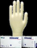 Перчатки медицинские смотровые (диагностические) Покрытие LS, Неопудренные, Нестерильные Dermagrip Coated LS