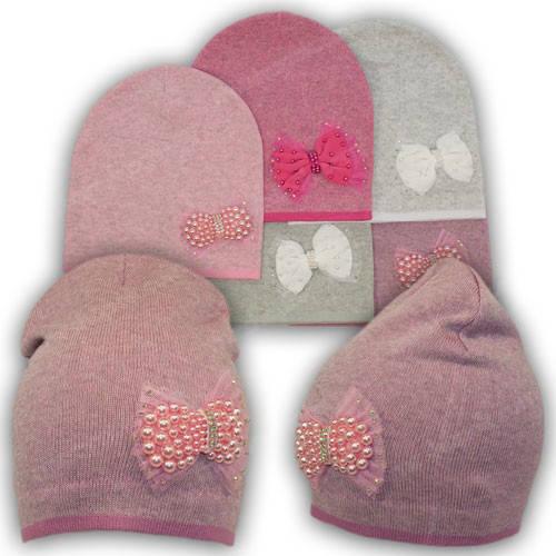 Польские шапки для девочек, р. 50-52